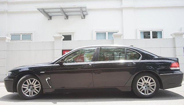 Bán BMW 7 Series 730LI sản xuất năm 2007, màu đen, xe nhập