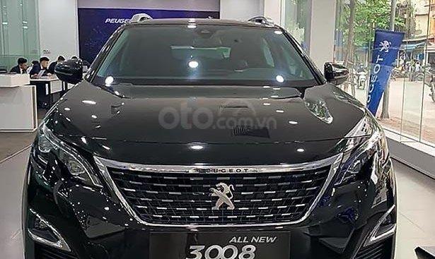 Cần bán xe Peugeot 3008 1.6 AT 2019, màu đen
