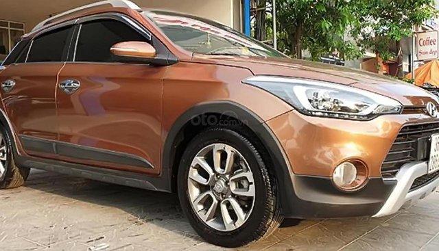 Cần bán lại xe Hyundai i20 Active 2017, màu nâu, nhập khẩu nguyên chiếc, giá tốt