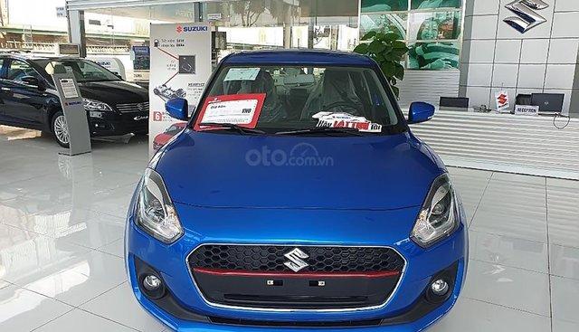 Cần bán Suzuki Swift GLX 1.2 AT 2019, màu xanh lam, nhập khẩu, giá 549tr