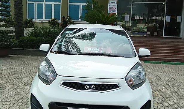 Cần bán lại xe Kia Morning đời 2013, màu trắng như mới