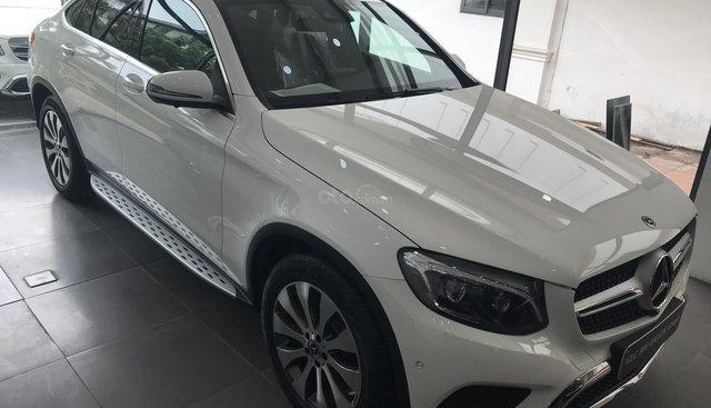 Bán ô tô Mercedes GLC 300 Coupe đời 2019, màu trắng, nhập Đức nguyên chiếc