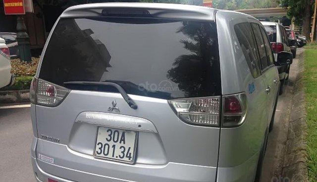 Bán Mitsubishi Zinger GLS 2.4 MT năm sản xuất 2008, màu bạc