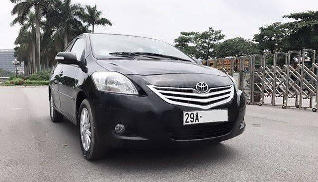 Bán xe gia đình đang đi Toyota Vios E 1.5MT đời 2010, màu đen