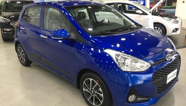 Hyundai I10 2019 khuyến mãi khủng TM, tặng nhiều PK, xe đủ màu giao ngay