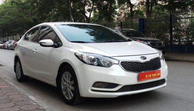 Ô Tô Thủ Đô bán xe Kia K3 1.6 MT 2016, màu trắng, 465 triệu