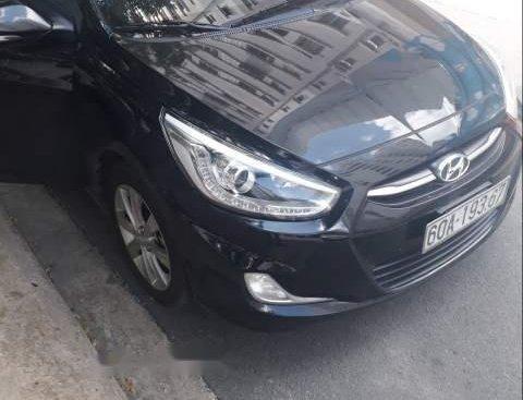 Bán Hyundai Accent 1.4AT 2015, màu đen, nhập khẩu Hàn Quốc