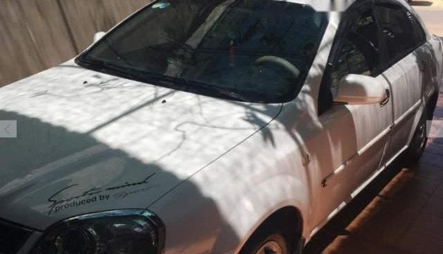Bán Daewoo Lacetti EX 2005, màu trắng, giá tốt