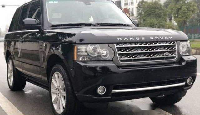 Chính chủ bán gấp LandRover Range Rover Supercharged đời 2011, màu đen, xe nhập