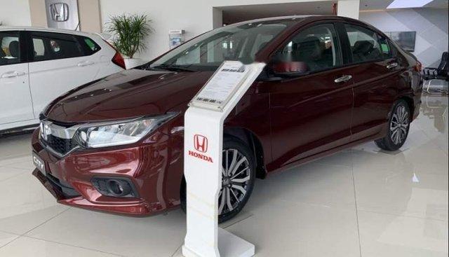 Bán ô tô Honda City sản xuất năm 2019, màu đỏ, giá tốt