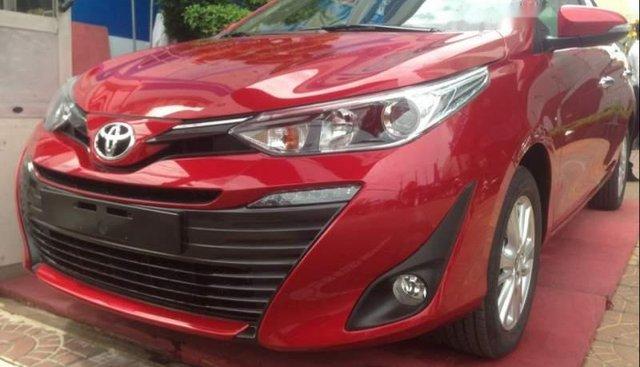 Bán Toyota Vios năm sản xuất 2019, màu đỏ, giá chỉ 566 triệu