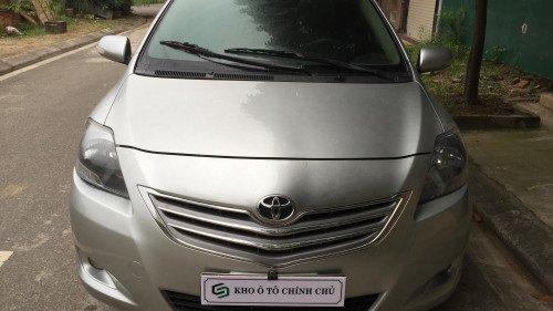 Bán ô tô Toyota Vios 1.5 AT đời 2013, màu bạc, giá chỉ 415 triệu