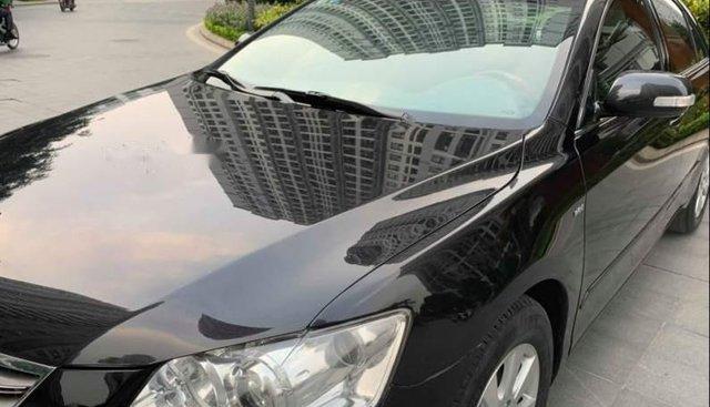 Bán lại xe Toyota Camry 2.4G năm 2009, màu đen như mới