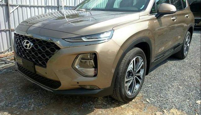 Bán xe Hyundai Santa Fe sản xuất năm 2019, màu nâu