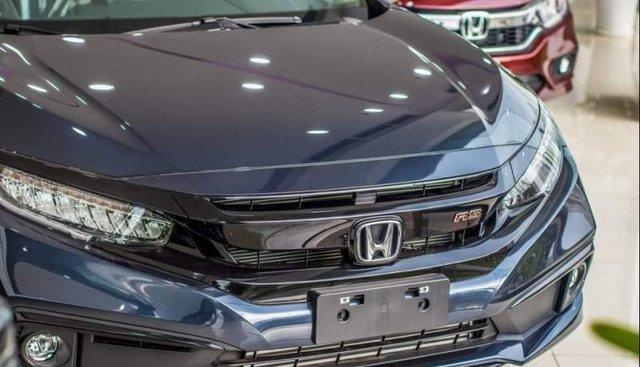 Bán Honda Civic RS năm 2019, màu xanh lam, xe nhập