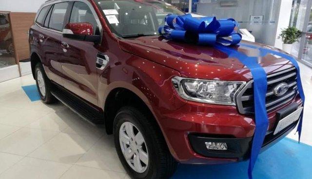 Bán Ford Everest Ambiente AT đời 2019, màu đỏ, nhập khẩu nguyên chiếc