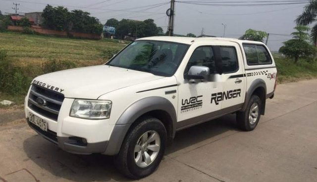 Bán Ford Ranger 2008, màu trắng, nhập khẩu nguyên chiếc
