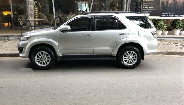 Bán Toyota Fortuner 2.7 4x4 sản xuất 2013, màu bạc như mới
