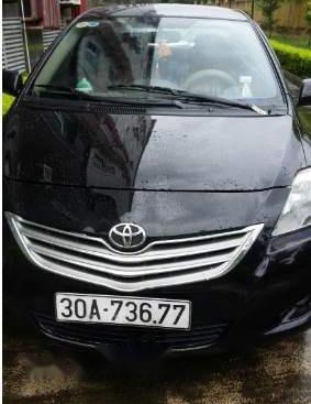 Bán xe Toyota Vios đời 2010, màu đen