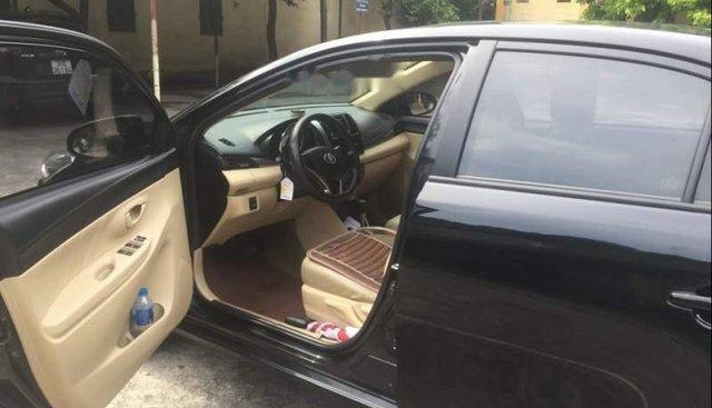 Bán Toyota Vios đời 2017, màu đen, xe gia đình