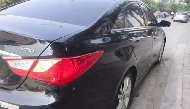 Bán Hyundai Sonata đời 2009, màu đen, xe nhập, 500tr