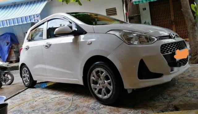 Bán Hyundai Grand i10 sản xuất 2017, màu trắng, nhập khẩu