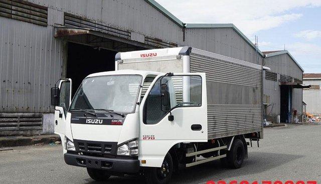 Xe Isuzu QKR270 thùng kín tải 1T9 trọn gói