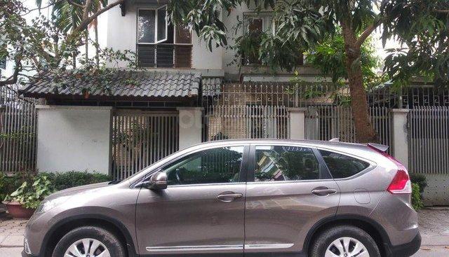 Bán Honda CR V 2.0AT năm 2013, màu xám chính chủ, giá tốt
