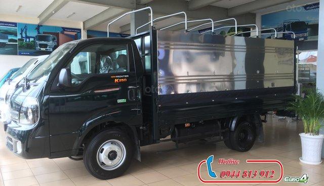 Bán Kia K250 động cơ Hyundai tải trọng 2.49 tấn, giá tốt tại Bình Dương, có hỗ trợ trả góp - LH: 0944.813.912