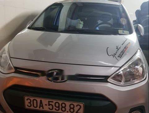 Bán Hyundai Grand i10 đời 2015, màu bạc, nhập khẩu nguyên chiếc chính chủ