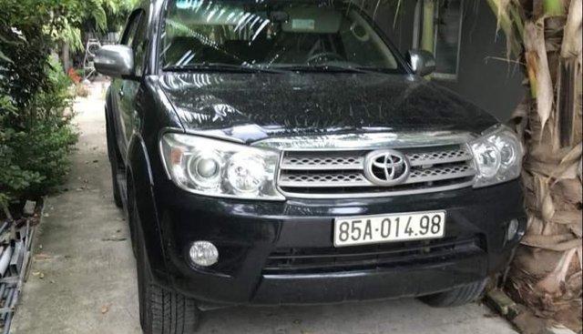 Bán Toyota Fortuner 2011, màu đen, 530 triệu