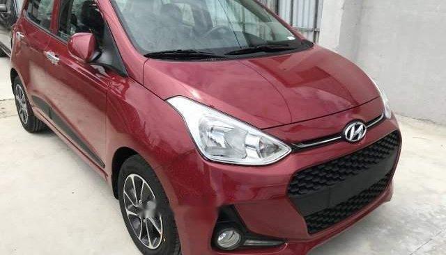 Bán xe Hyundai Grand i10 1.2 AT 2019, màu đỏ