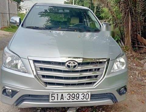 Cần bán gấp Toyota Innova 2012, màu bạc, giá tốt