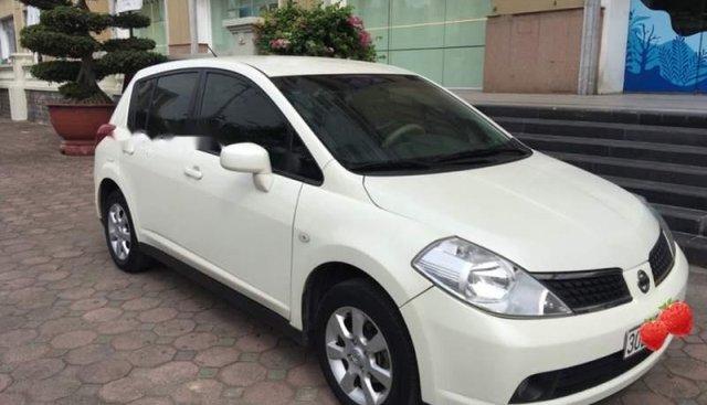 Bán xe Nissan Tiida 1.6AT đời 2008, màu trắng, xe nhập