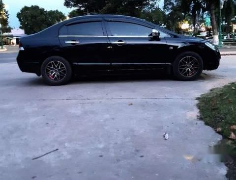 Bán ô tô Honda Civic sản xuất năm 2009, màu đen số sàn