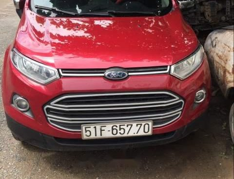 Cần bán xe Ford EcoSport sản xuất năm 2016, màu đỏ số sàn