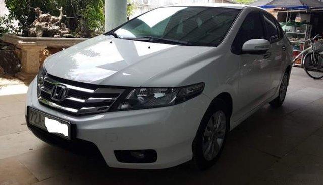 Bán xe Honda City 2014, màu trắng, số tự động