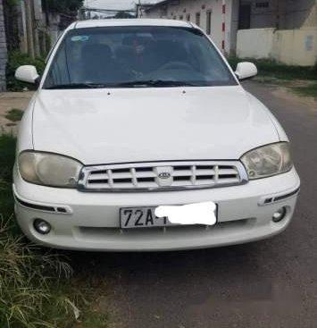 Bán Kia Spectra 2005, màu trắng, 4 chỗ, xe còn mới, giá 110tr