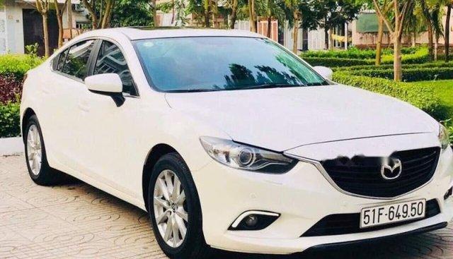Bán Mazda 6 sản xuất năm 2016, màu trắng, giá tốt