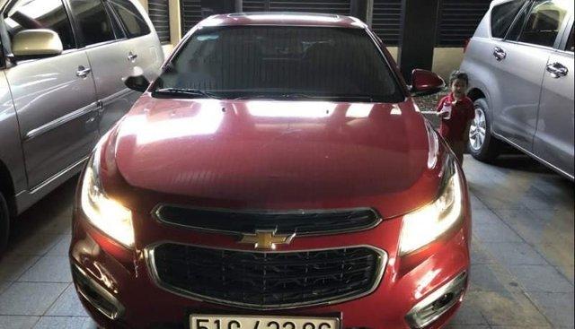 Bán Chevrolet Cruze năm sản xuất 2017, màu đỏ, nhập khẩu