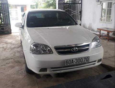 Bán xe Daewoo Lacetti EX đời 2009, màu trắng