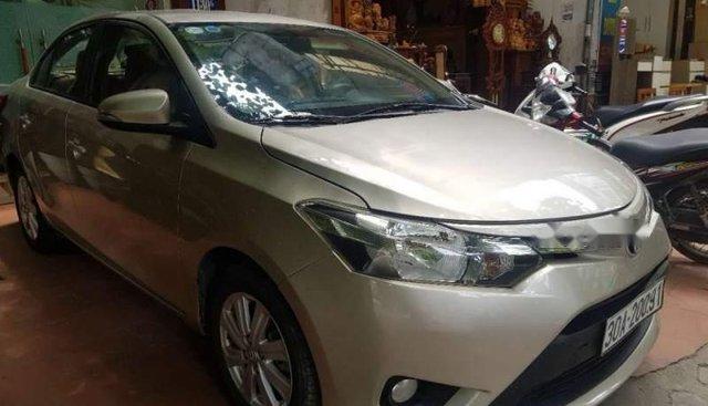 Cần bán lại xe Toyota Vios E MT 2015 giá cạnh tranh