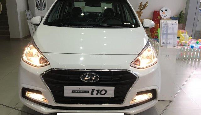 Hyundai Grand i10 Sedan AT, xe giao ngay, thanh toán 130tr - LH: 0918439988