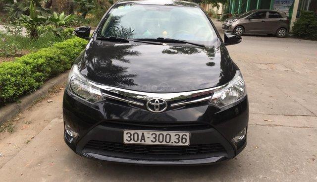Gia đình cần bán gấp chiếc Toyota Vios E 2014, số sàn, màu đen, chính chủ, LH 0986328400