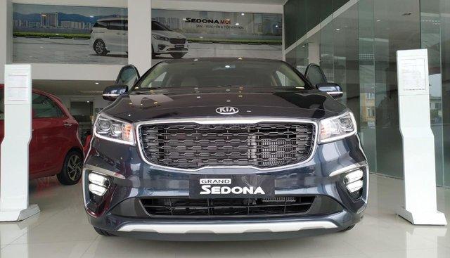 Bán ô tô Kia Sedona Luxury, Platinum D, Platinum G sản xuất năm 2019, màu xanh lam