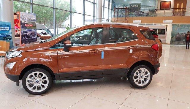 Bán xe Ford EcoSport 1.5L Titanium đời 2019, đủ màu giá cạnh tranh, hỗ trợ trả góp lãi suất thấp hotline 0979 572 297