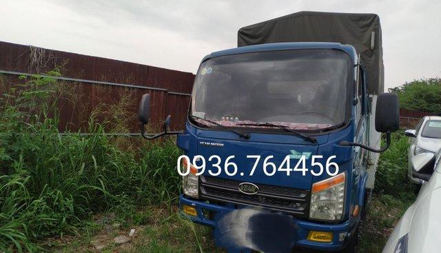 Ngân hàng thanh lý đấu giá xe Veam VT150, xe tải có mui đời 2016, màu xanh lam còn mới, giá tốt 165triệu
