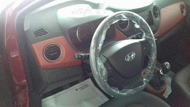 Bán xe Hyundai Grand i10 sản xuất năm 2019, màu đỏ giá cạnh tranh