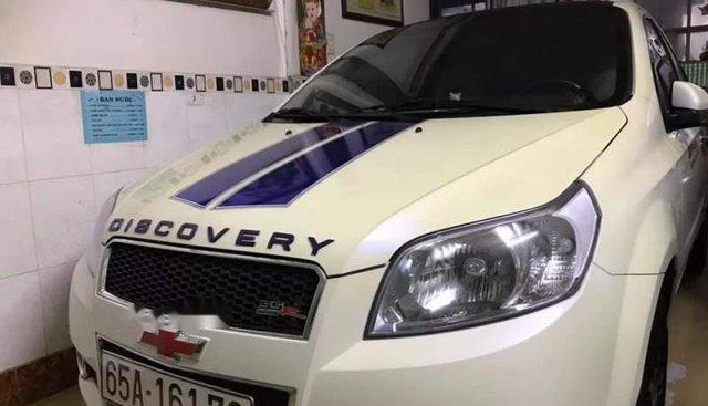 Cần bán Chevrolet Aveo đời 2018, màu trắng