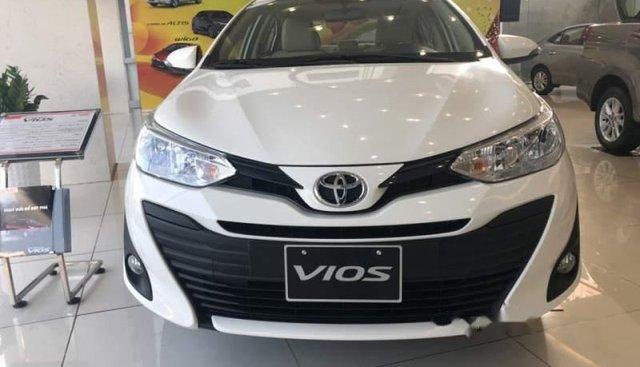 Bán Toyota Vios E CVT 2019, màu trắng, 534 triệu